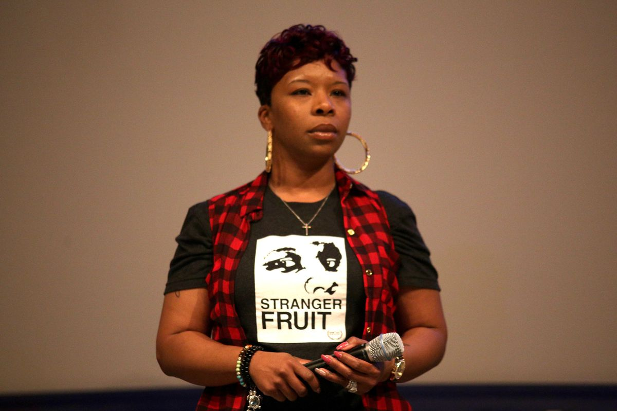Lesley McSpadden, 39, is vying for a seat on the Ferguson City Council nearly five years after the death of her son, Michael Brown.