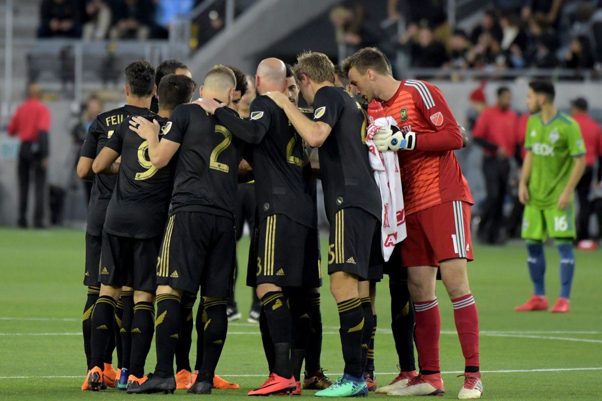 MLS: Seattle Sounders at Los Angeles FC