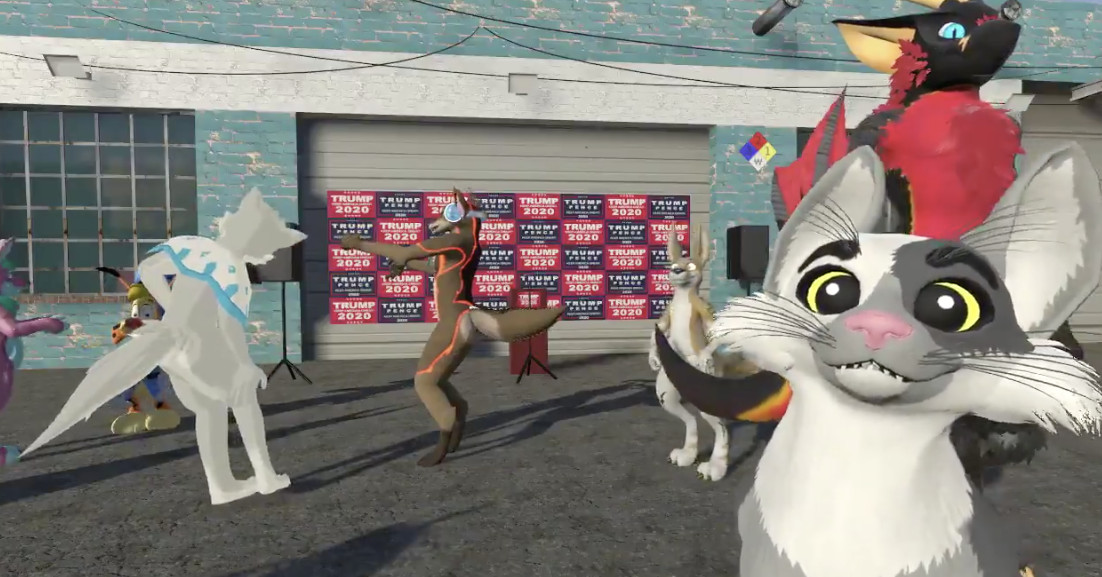 Four Seasons Total Landscaping becomes a VRChat hangout for furries
