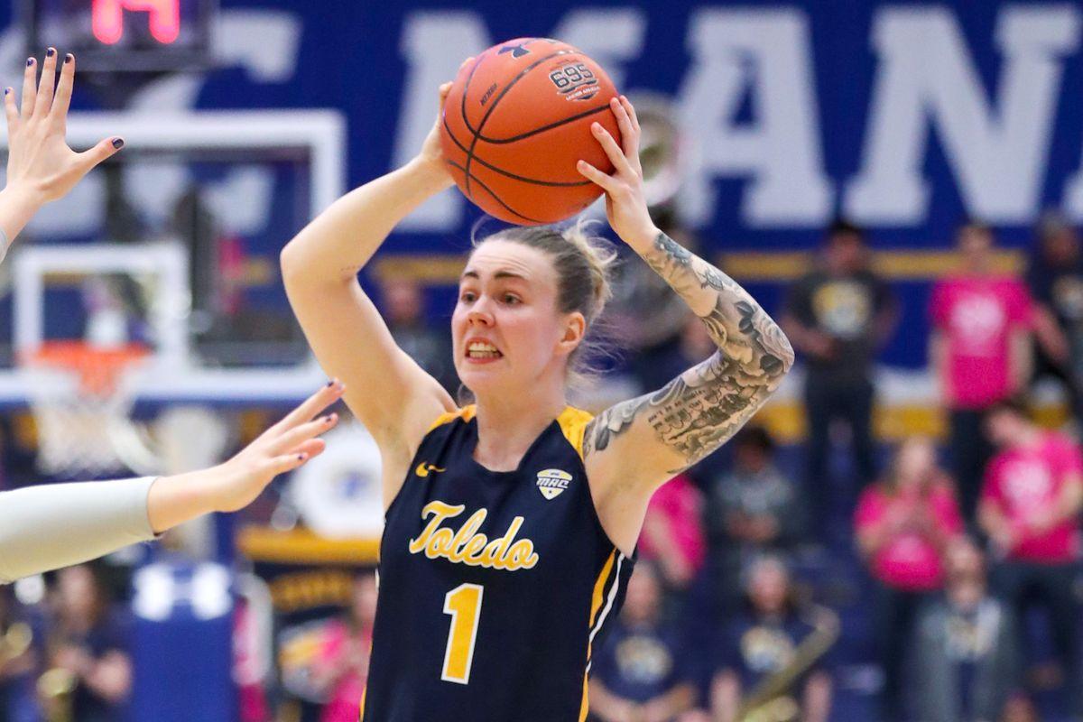 COLLEGE BASKETBALL: FEB 15 Women's Toledo at Kent State