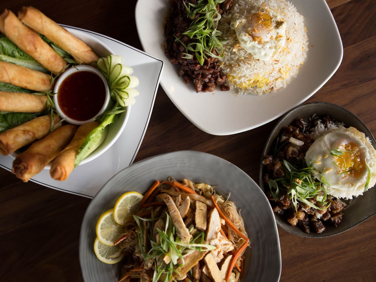 Dishes from Be More Pacific