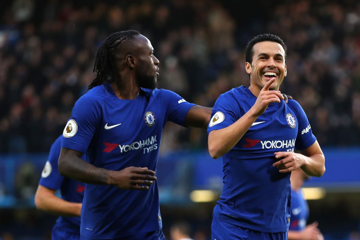 Chelsea put five past sorry Stoke