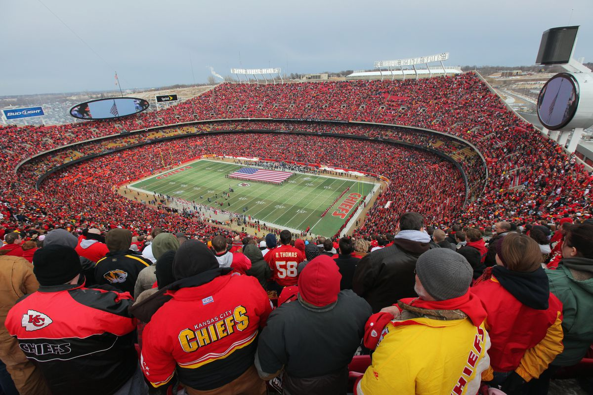 arrowhead stadium crowd noise