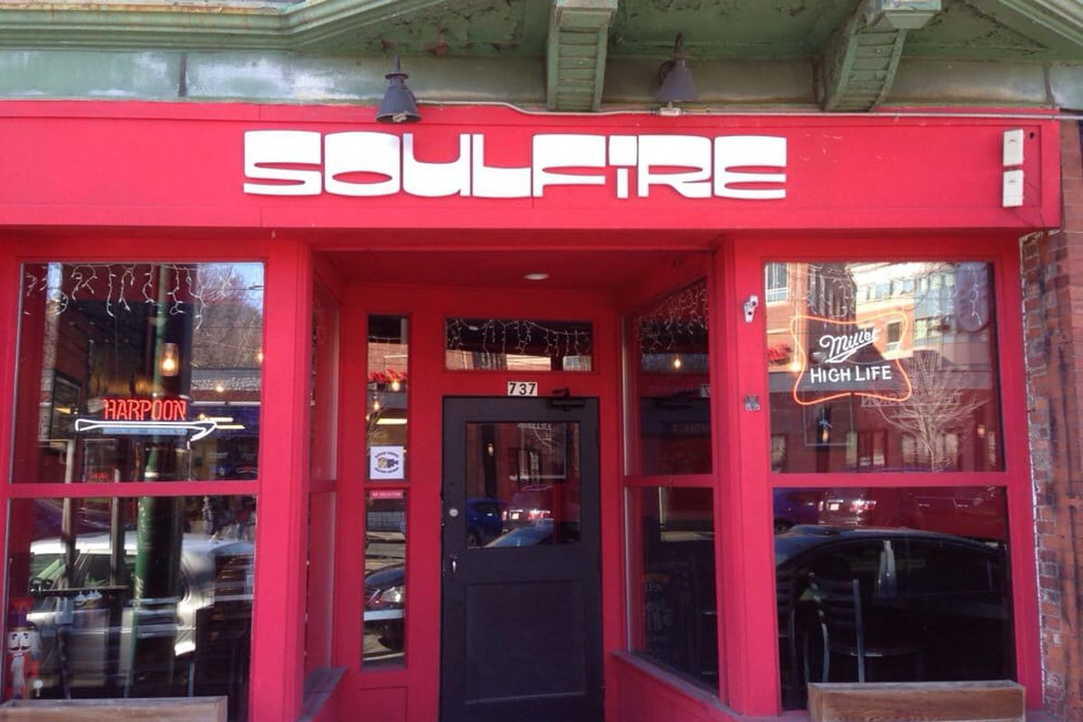 SoulFire Barbecue on Huntington Avenue