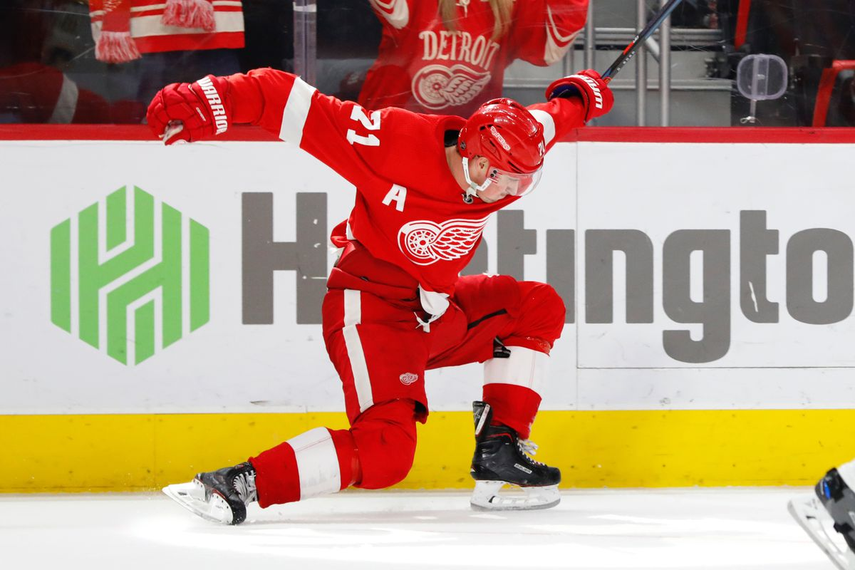 Red Wings Top 25 Under 25 Dylan Larkin Is Obviously 1 Winging It In Motown