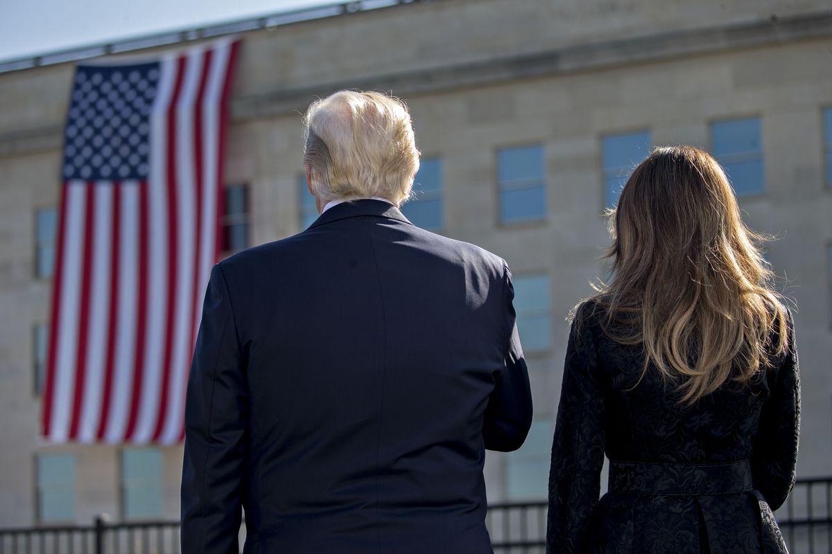 DOD Commemorates 16th Anniversary Of 9/11 Terror Attacks At Pentagon Memorial