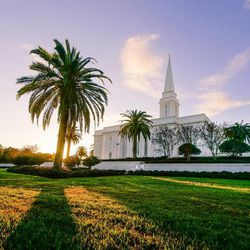 Scott Jarvie is on a mission to capture and compile pictures of every LDS temple in the United States. The Orlando Florida Temple is pictured here.