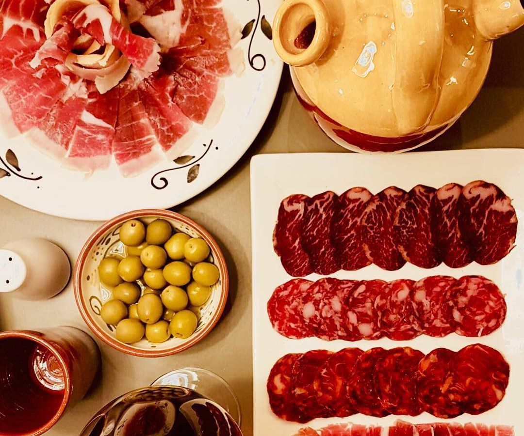 Tapas board at Llerena, one of the best restaurants in Islington