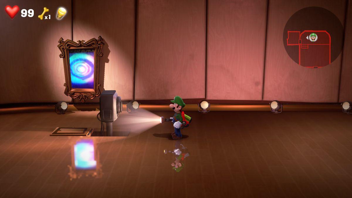Luigi's Mansion 3 4F AUDITORIUM [GREEN GEM]