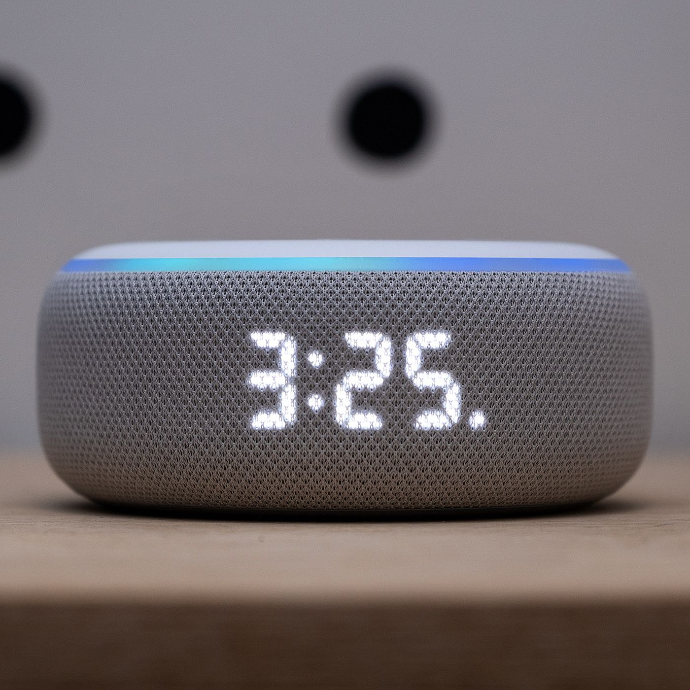 Amazon Echo Dot with clock review: time is on its side - The Verge