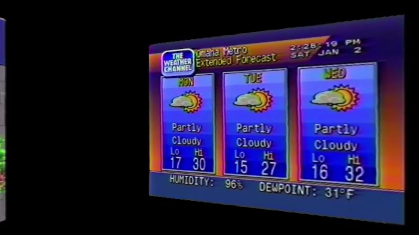 Google filmmaker makes VR video mash-up of '90s Weather Channel