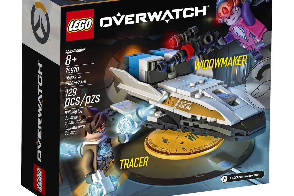 lego overwatch tracer and widowmaker