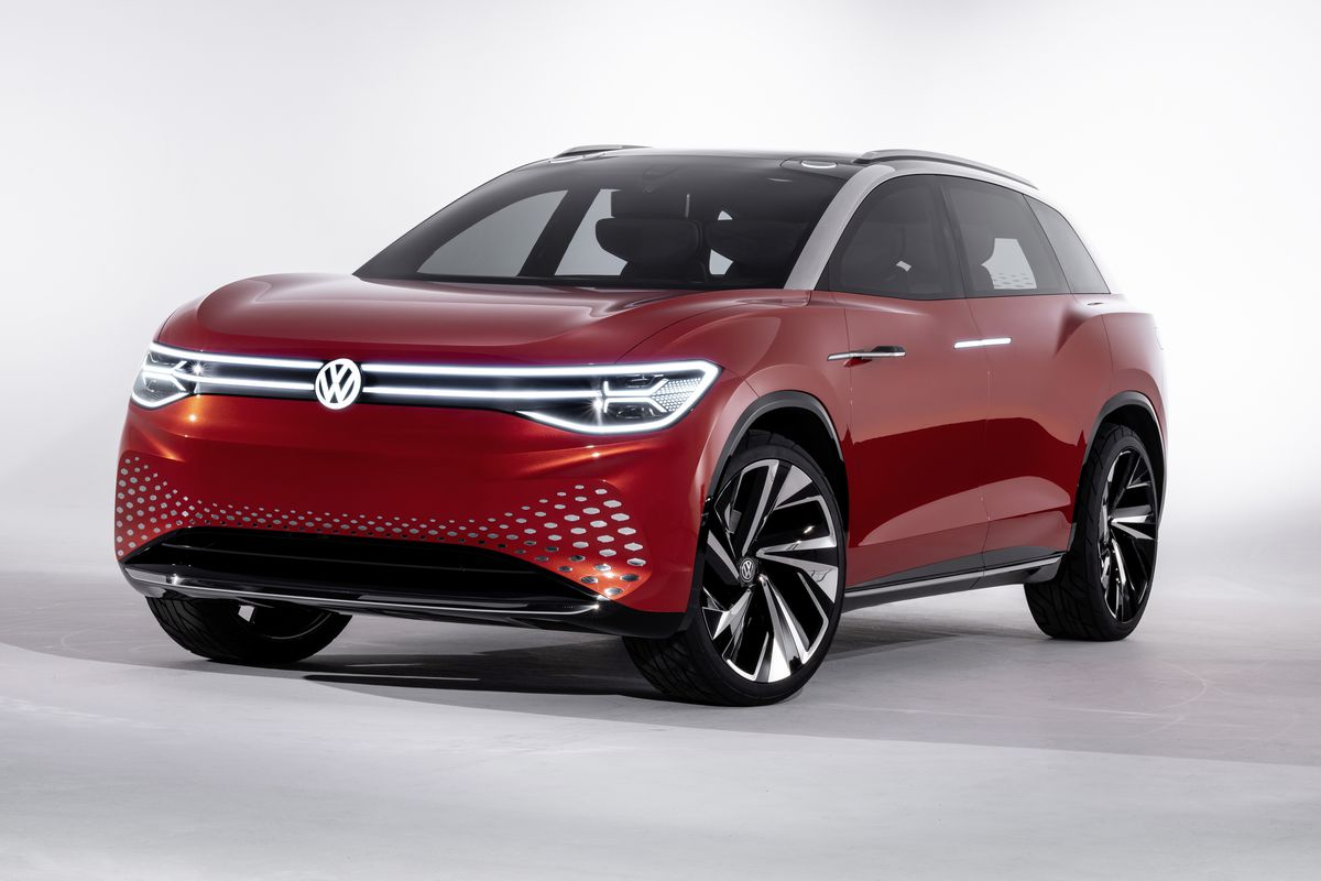 Volkswagen Unveils Next Electric Suv In Its Futuristic Id Lineup