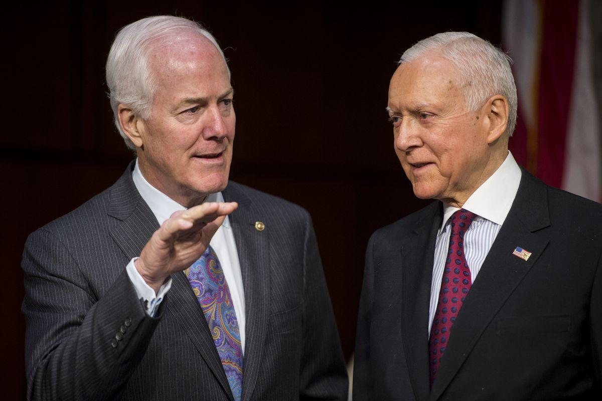 Sen John Cornyn (R-TX) and Sen. Orrin Hatch (R-UT) are leading supporters of patent reform.