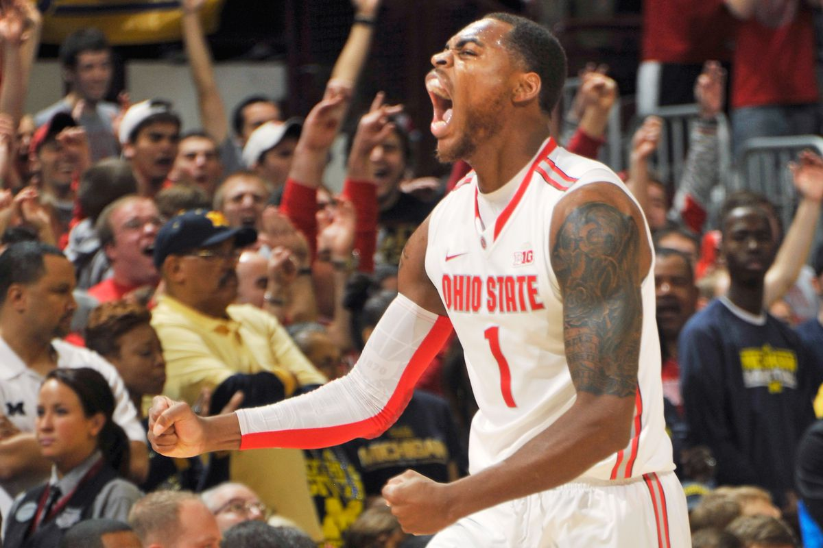 Deshaun Thomas led the way for Ohio State in a win over arch rival Michigan.