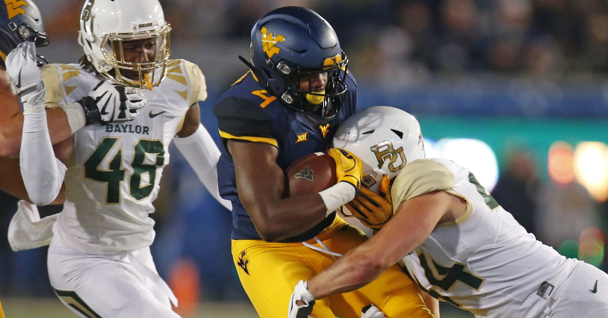 WVU Announces Game Times For Four Football Games