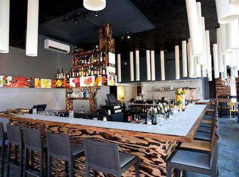 The bar at Artusi