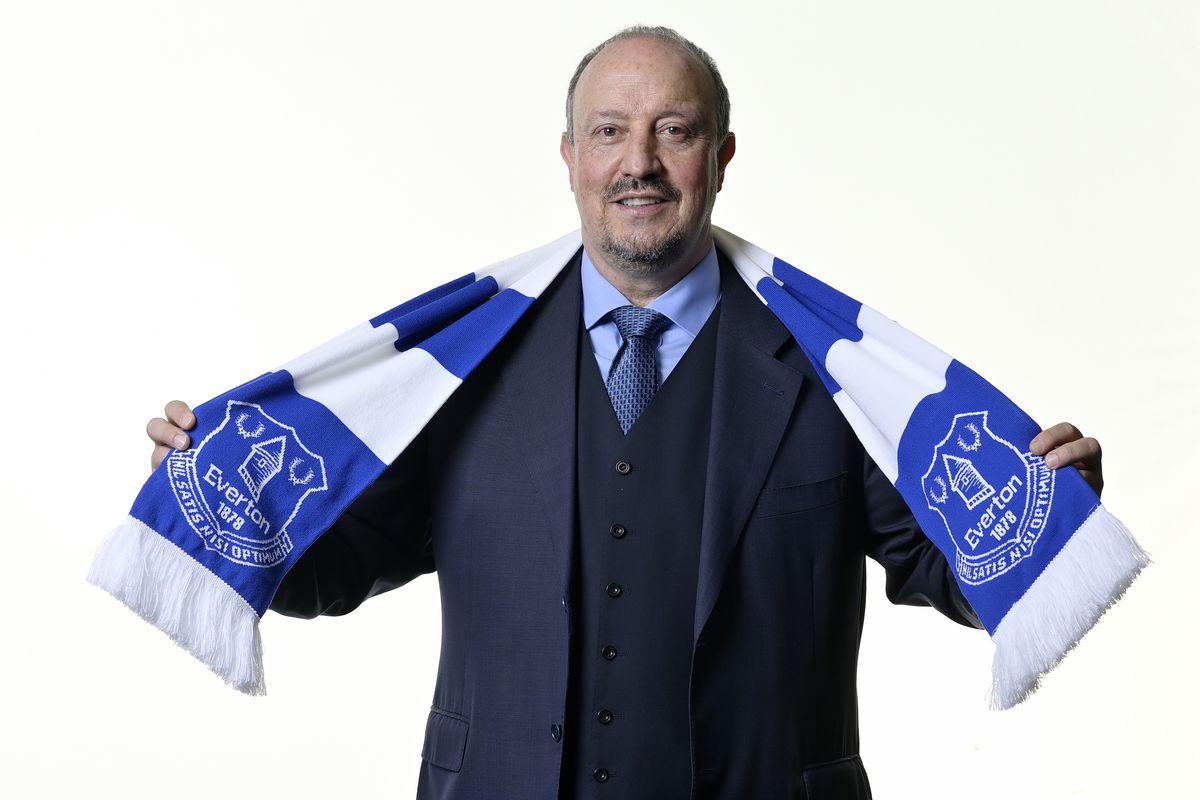 Everton Unveil New Manager Rafael Benitez