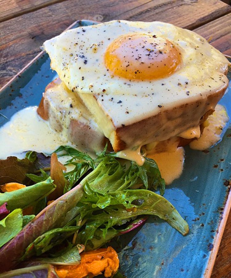 Enjoy an elevated brunch menu during the week at Kitchen Table.