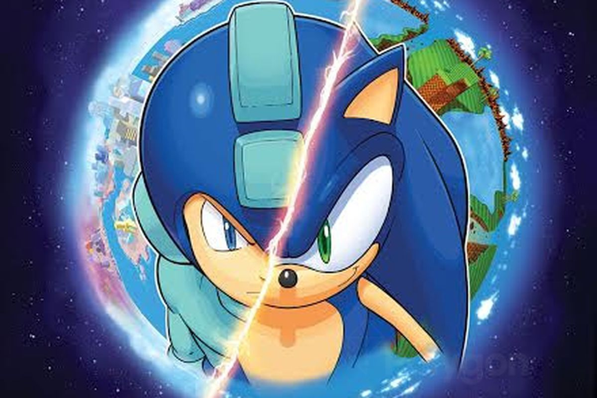 Worlds Unite In New Mega Man Sonic Crossover Series Polygon
