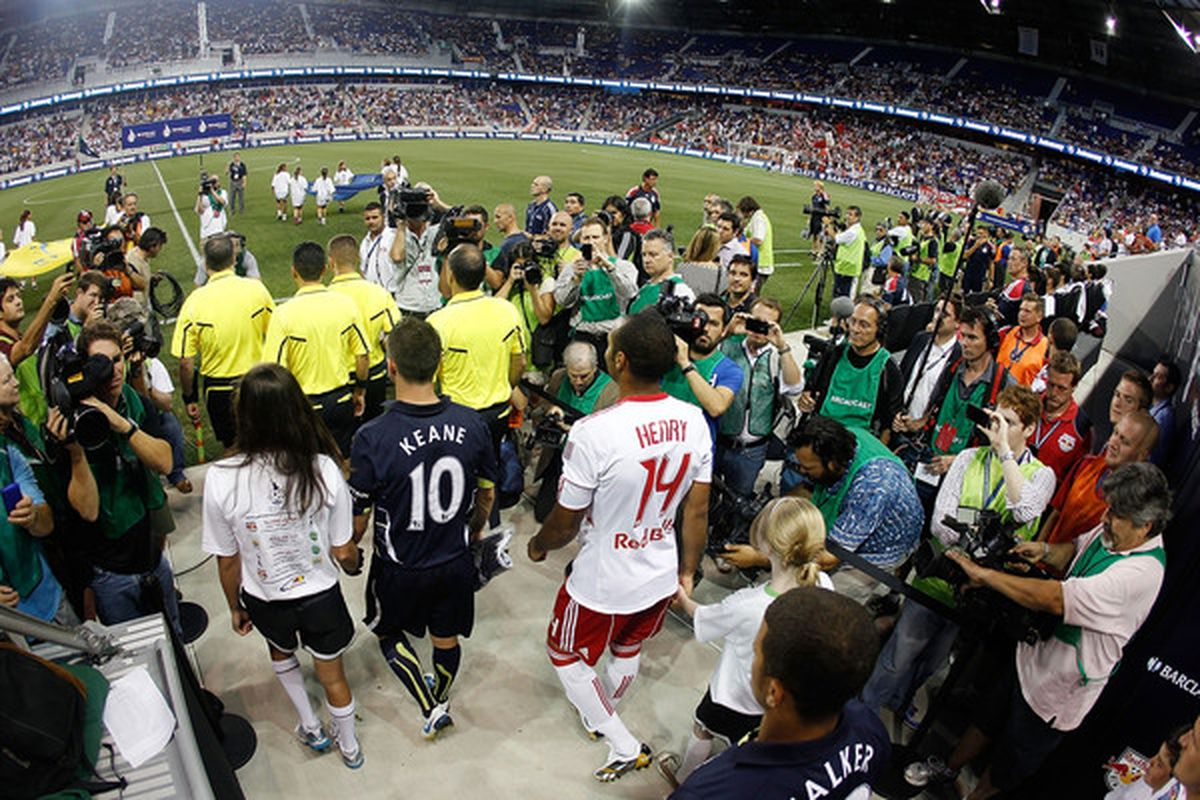 Spurs are heading back to Red Bull Arena