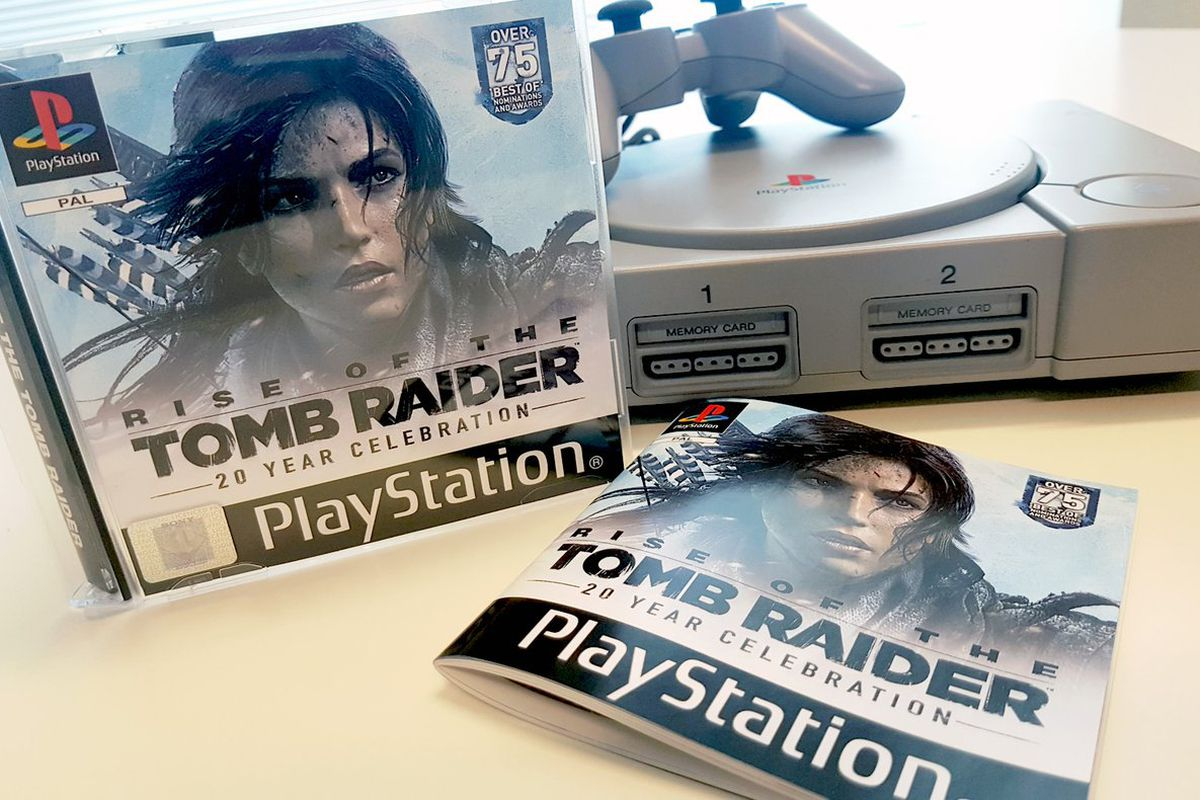 You can't buy Rise of the Tomb Raider's lovely PS1 throwback, but