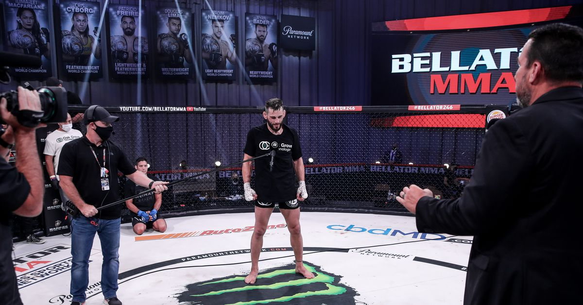 Bellator 246 video: Jon Fitch explains decision to retire after loss