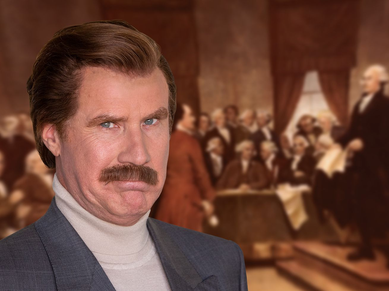 Ron Burgundy And A Historian Talk All Things America