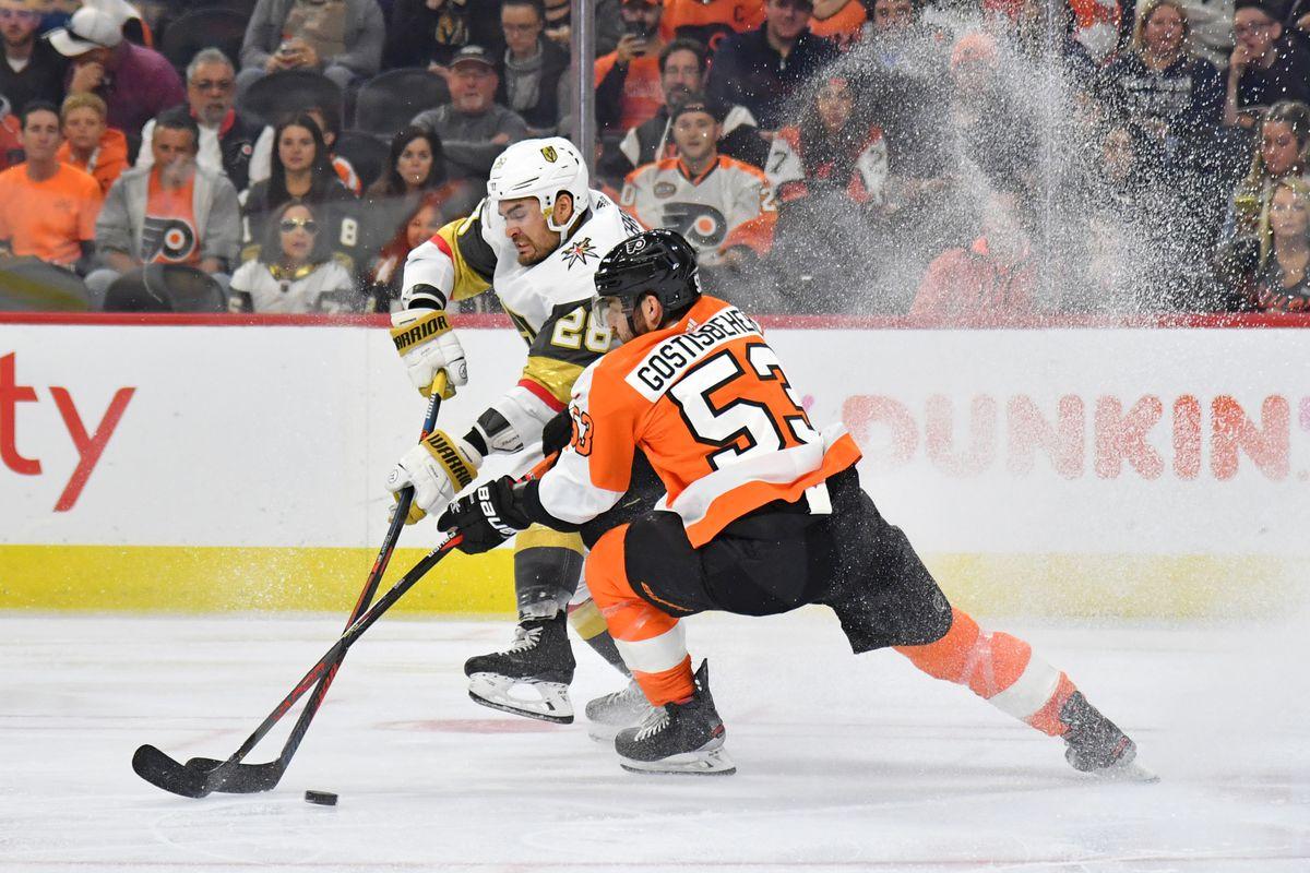 NHL: Vegas Golden Knights at Philadelphia Flyers