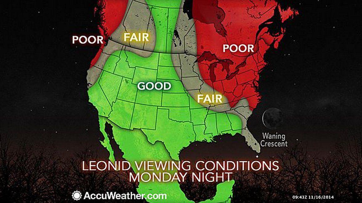 leonid map