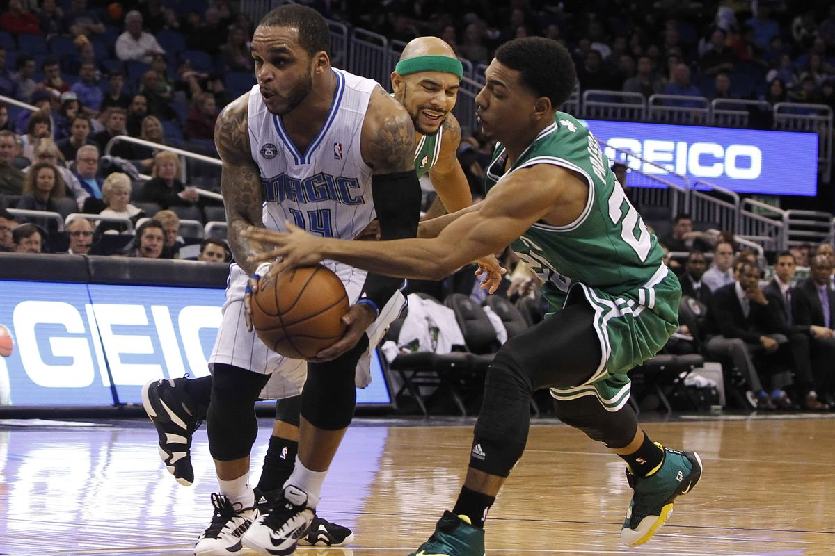 Jameer Nelson, Jerryd Bayless, and Phil Pressey