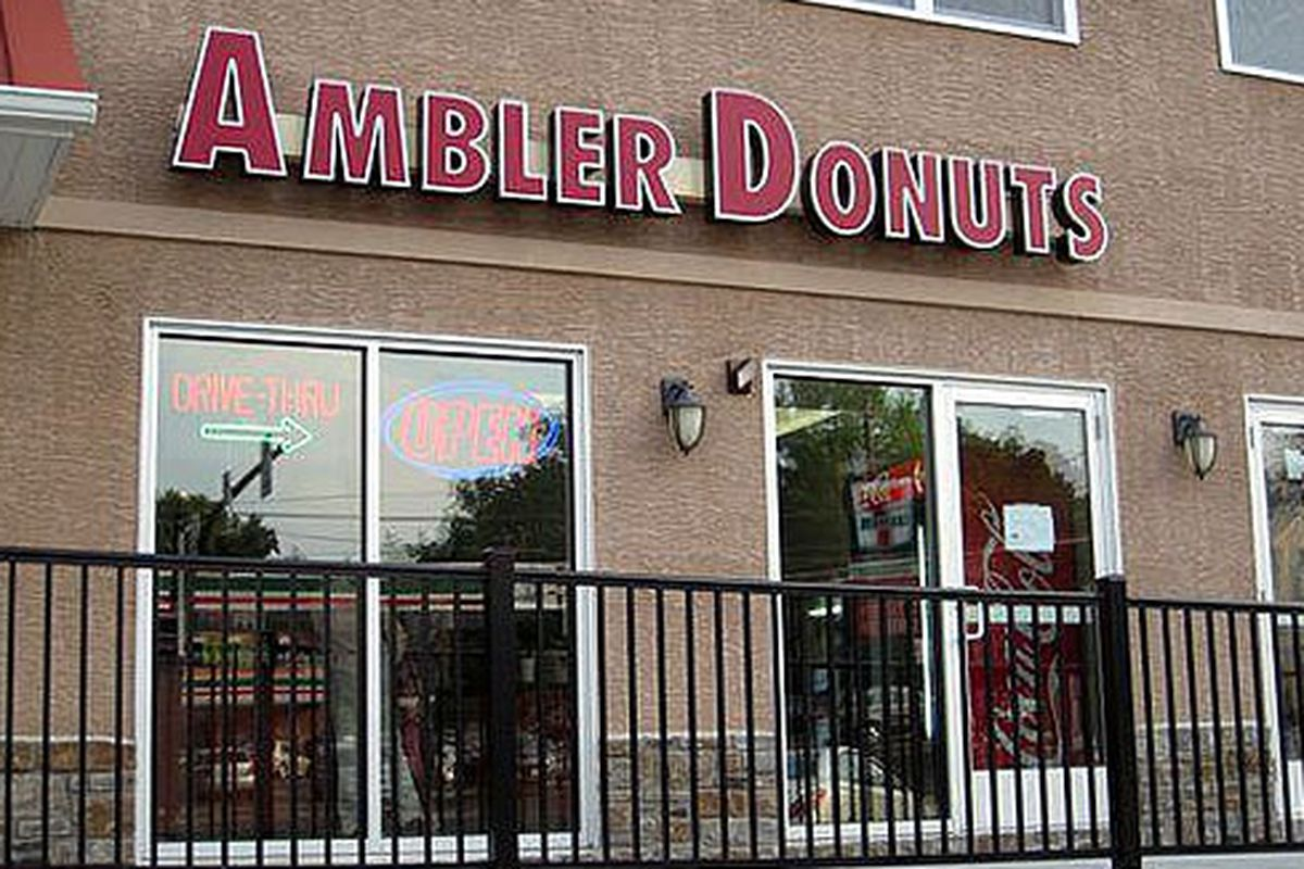 Don't let the facade fool you. Serious doughnuts are inside.