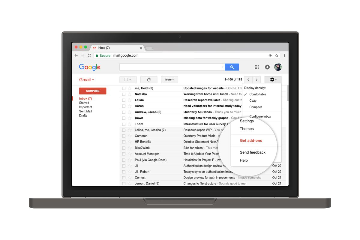 Gmail Add-ons lets developers integrate apps with Gmail inbox
