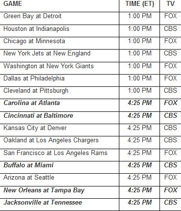 The Week 17 Kickoff Times Are Great News For The Seahawks Field Gulls