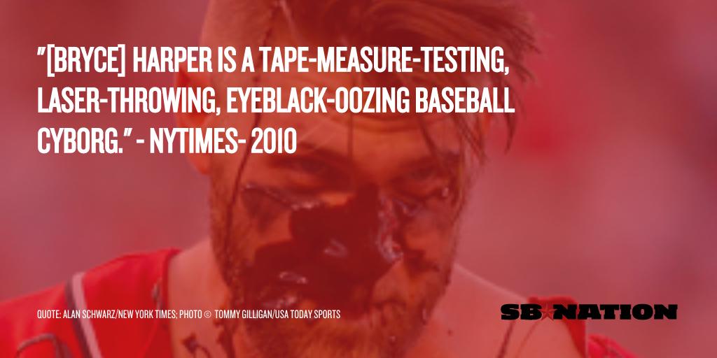 Harper eyeblack oozing