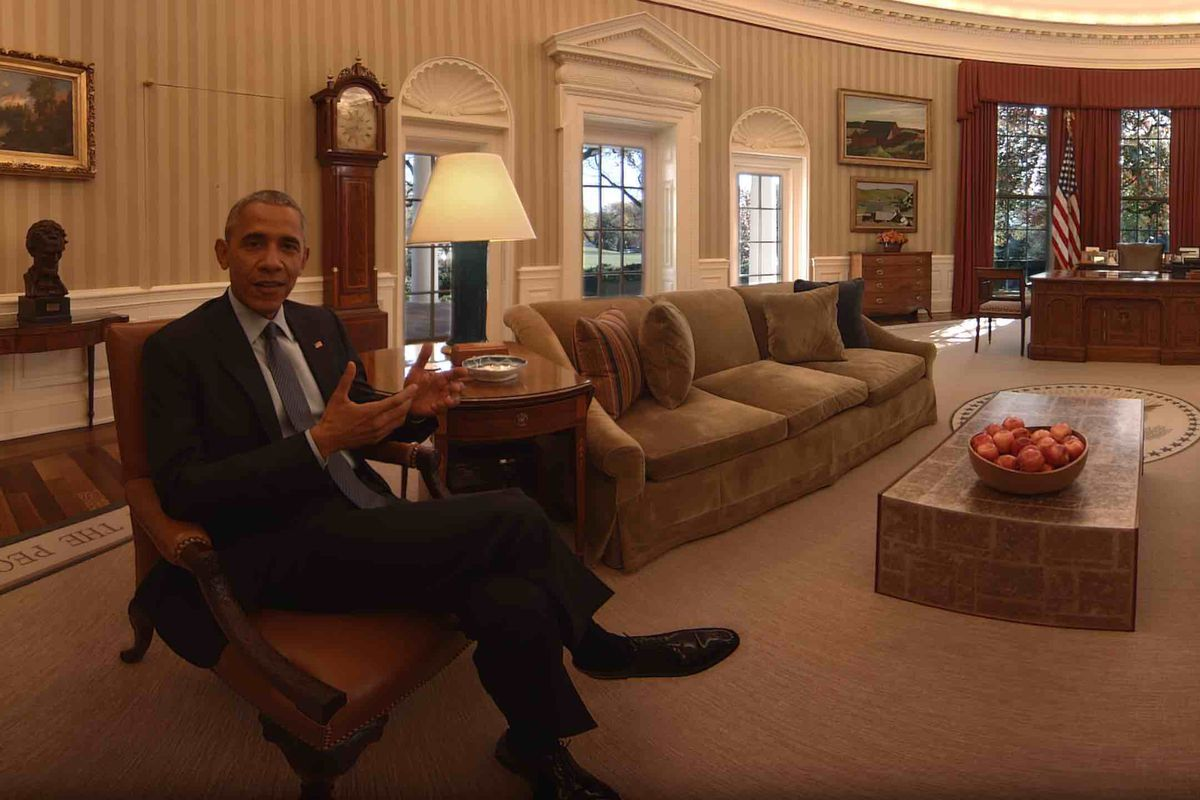Tour Obama's White House one last time in VR - The Verge