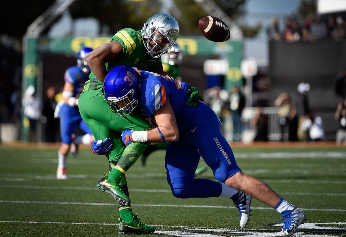 promo code 1f887 89e14 Leighton Vander Esch Is More Than the Stuff of NFL Draft ...