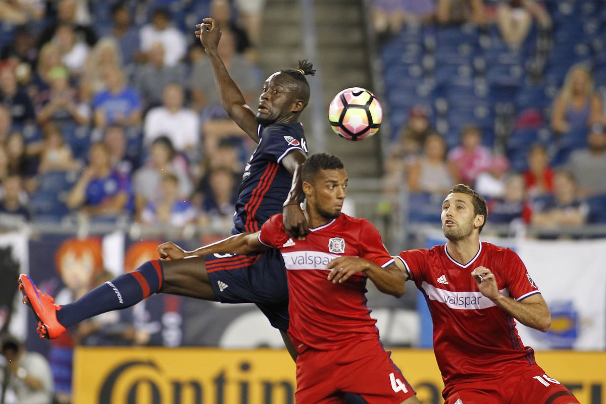 MLS: U.S. Open Cup-Chicago Fire at New England Revolution