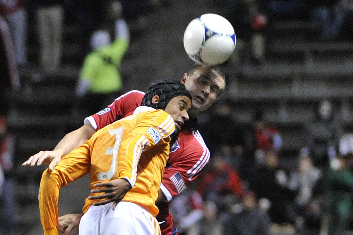 Former Fire player Calen Carr helped KO the Fire from the playoffs with an assist on the second goal