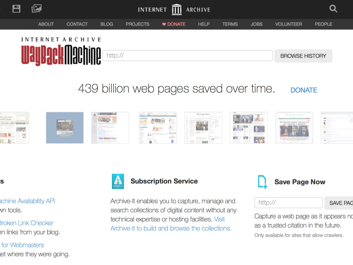 The Internet Archive Will Launch A Modernized Wayback Machine In 2017 The Verge