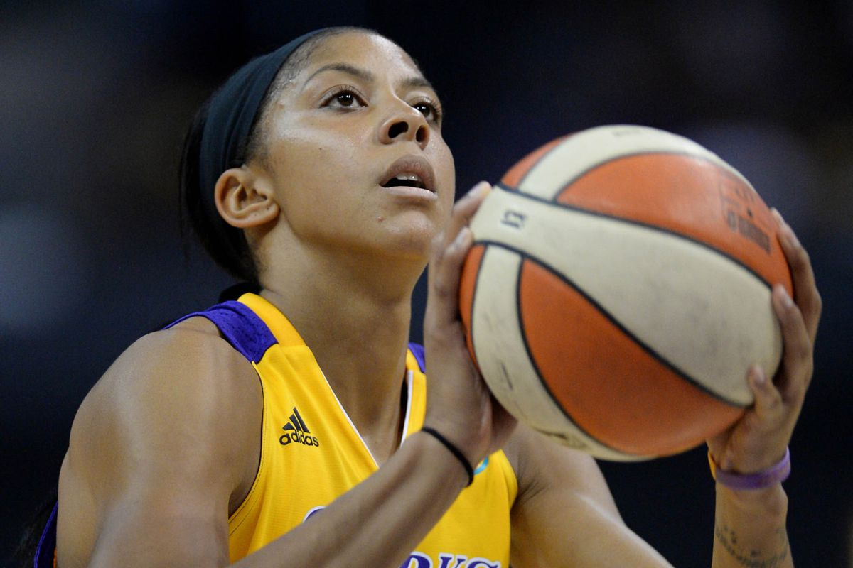 2008 WNBA MVP Candace Parker.