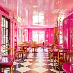 """<strong><a href=""""http://boston.eater.com/places/upstairs-on-the-square"""">UpStairs on the Square</a></strong>, Harvard Square. Go ahead, fall down the rabbit hole. There's the more casual but still colorful The Monday Club Bar downstairs, and then the total"""