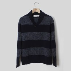 """<strong>Shipley & Halmos</strong> Earnest Sweater in Dapple/Navy, <a href=""""http://www.odinnewyork.com/search.asp?Mode=Product&Type=Shop&TypeID=9&ProductID=3012"""">$225</a> at ODIN New York"""