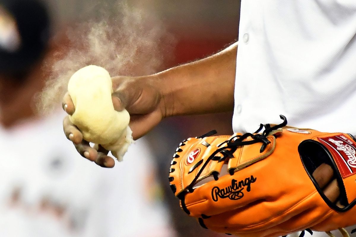 Squeeze that rosin bag like it's the last vestige of your talent.