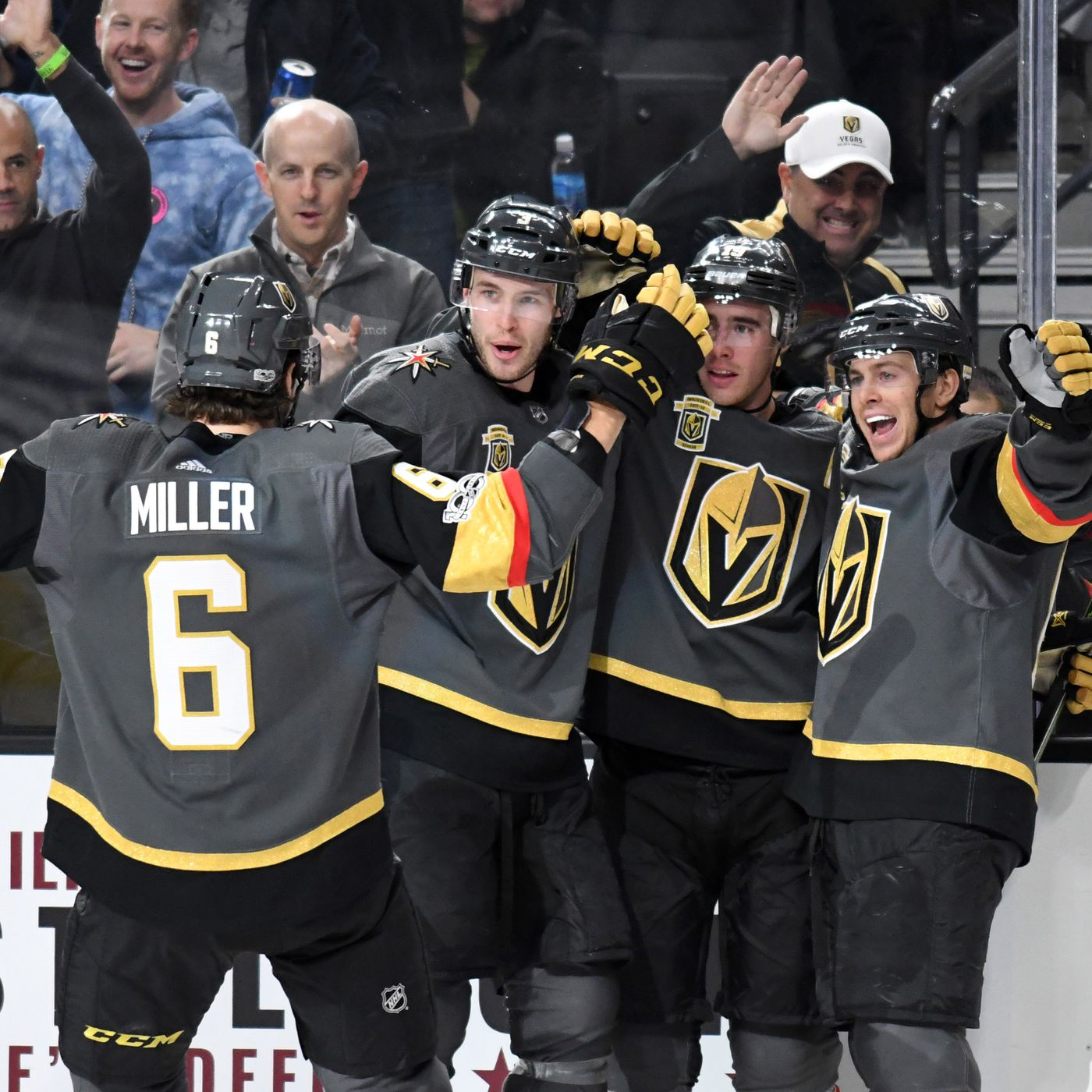 07a4e8ce4c2 Vegas Golden Knights become fastest NHL expansion team to reach 20 wins