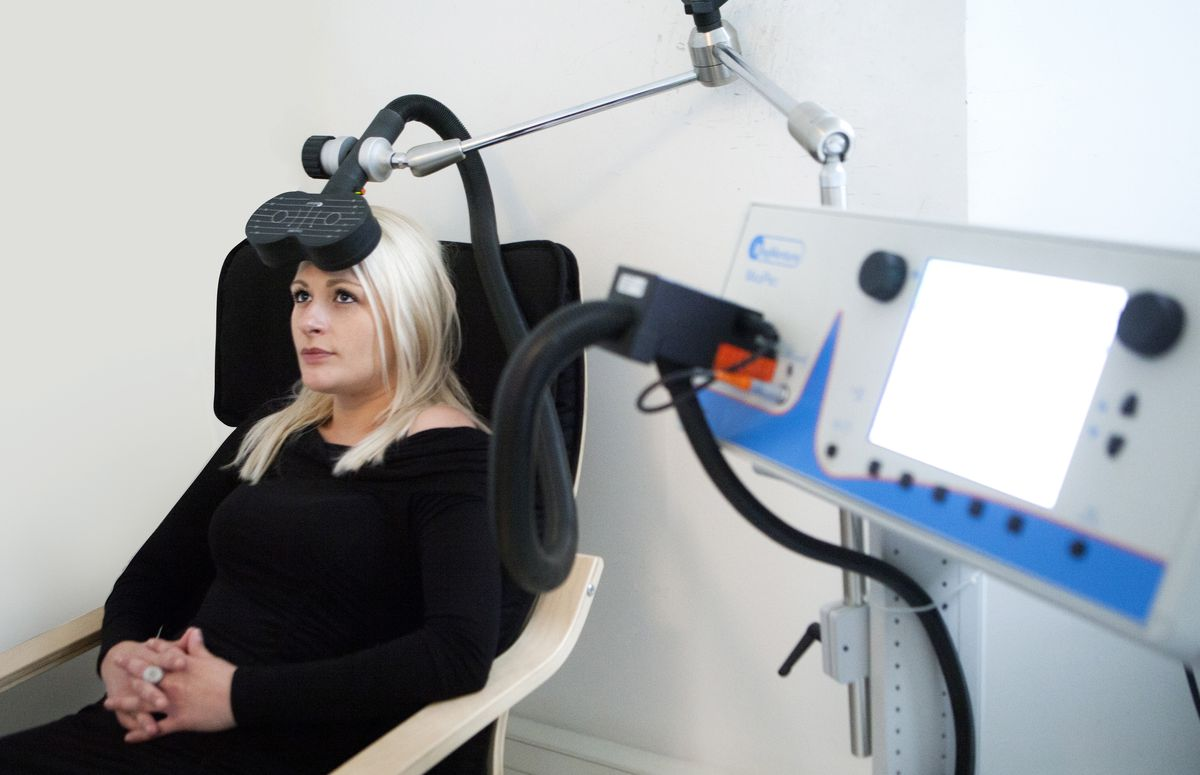 Transcranial magnetic stimulation TMS