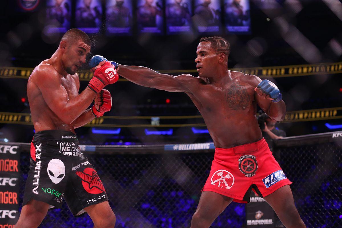 MMA: Bellator NYC-Lima vs Larkin