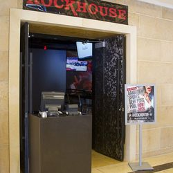 The entrance to Rockhouse.