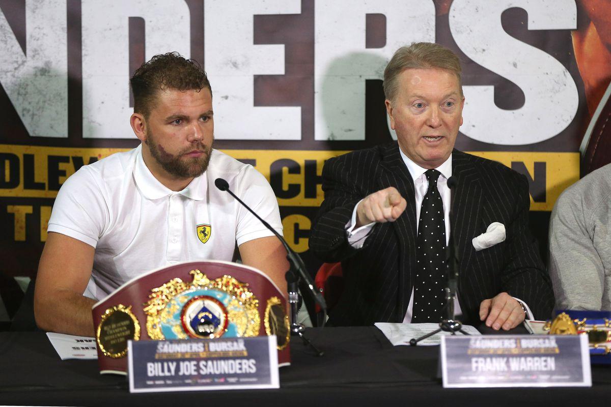 Billy Joe Saunders Press Conference