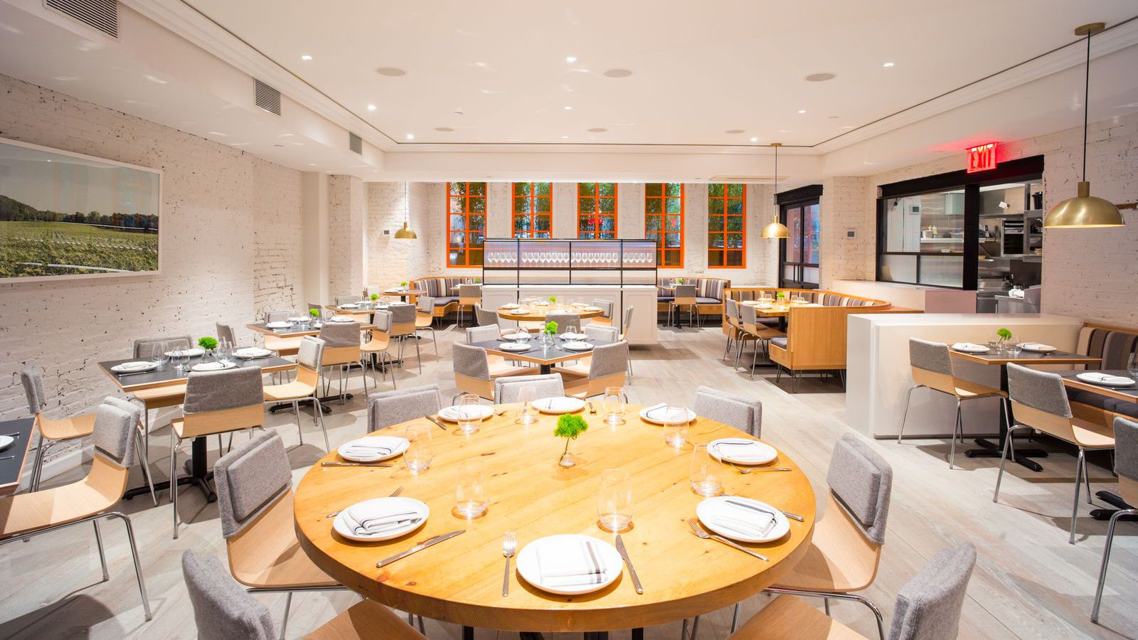 Jean georges prot g dan kluger prepares to open his first for Abc kitchen restaurant week menu